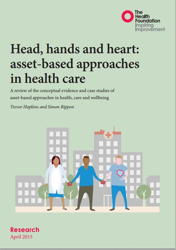 Head Hands and Heart report cover